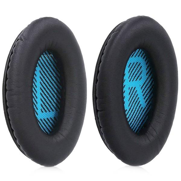 MMOBIEL Oorkussens Earpads geschikt voor: Bose Quietcomfort (ZWART) Koptelefoon