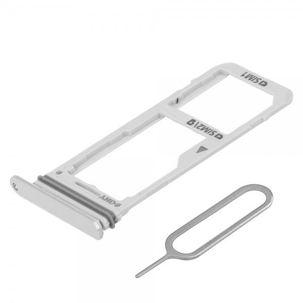 SIM/SD Karte Schlitten Tray für Samsung Galaxy Note 8 (GOLD) inkl. SIM Pin