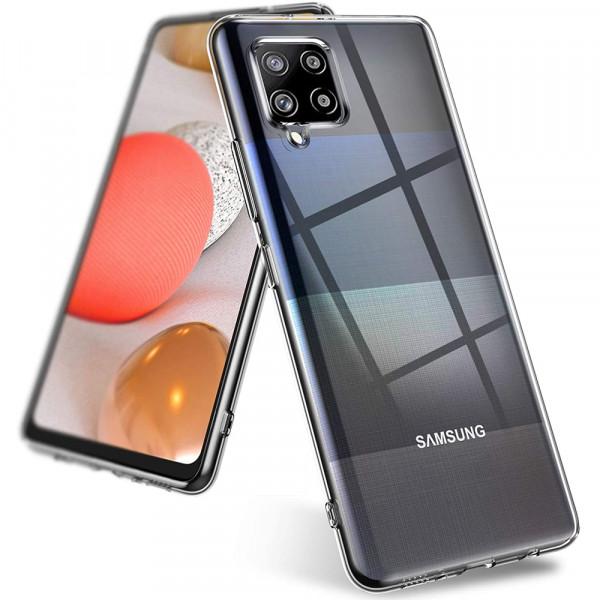 MMOBIEL Screenprotector en Siliconen TPU Beschermhoes voor Samsung Galaxy A42 (5G) A426 6.6 inch 2020
