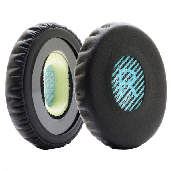 MMOBIEL Ohrpolster Ear Pads für Bose ON EAR OE OE2 OE2i (BLAU / SCHWARZ)