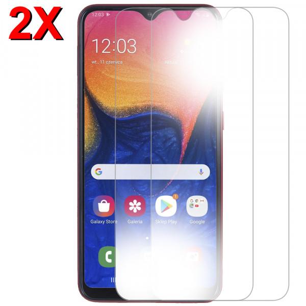 2x Displayschutzfolie Screen Protector Panzerfolie für Samsung Galaxy A10