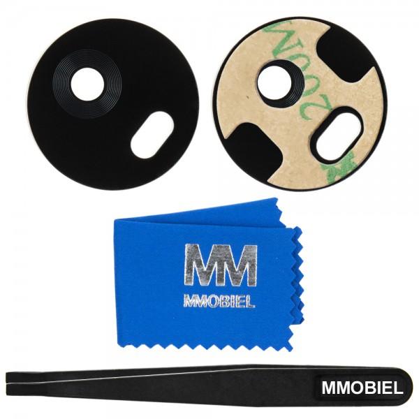 MMOBIEL Glas Lens Back Camera voor Motorola Moto G5 Plus (ZWART) - inclusief Pincet en Doekje