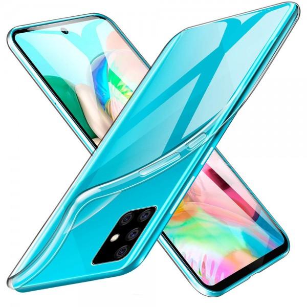 MMOBIEL Soft TPU Siliconen Hoesje - Samsung Galaxy A71 - Case - Back Cover - Skin - Ultra Dunne en Transparante Bescherming