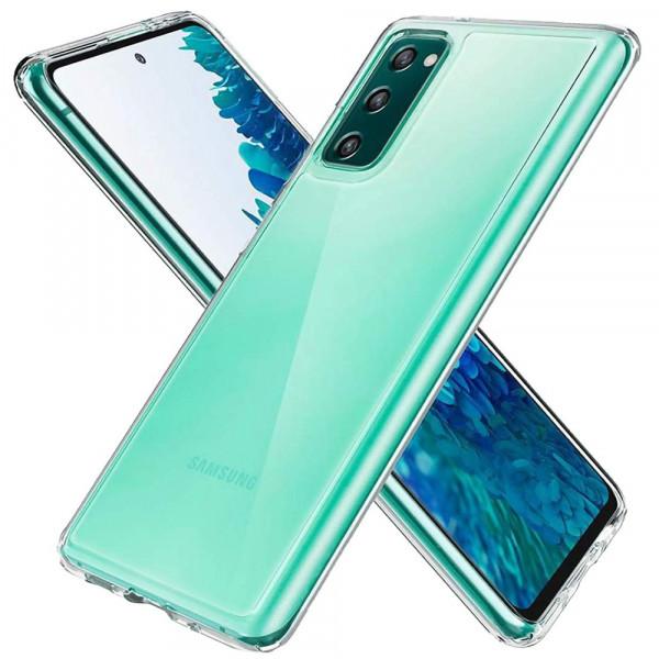 MMOBIEL Screenprotector en Siliconen TPU Beschermhoes voor Samsung Galaxy S20 FE (5G) 6.5 inch 2020