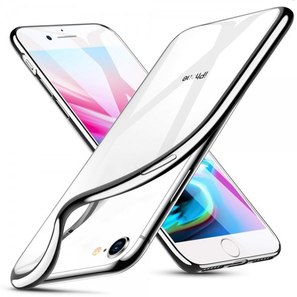 MMOBIEL Siliconen TPU Beschermhoes Voor iPhone SE (2020) / 8 / 7 - 4.7 inch Transparant - Ultradun Back Cover Case