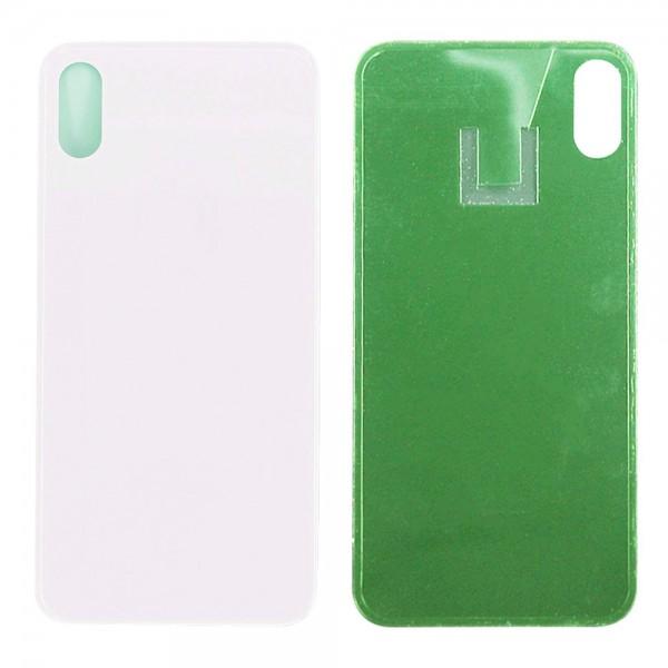 Akkudeckel Back Cover Gehäuse Ersatz für iPhone X 5.8 inch (SILBER) + Werkzeug