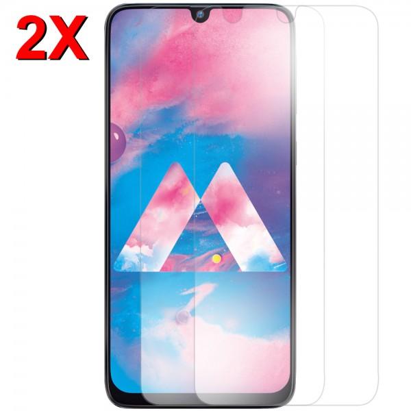 MMOBIEL 2 stuks Glazen Screenprotector voor Samsung Galaxy M30 M305 2019 - 6.4 inch - Tempered Gehard Glas - Inclusief Cleaning Set