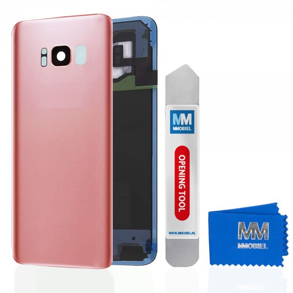 MMOBIEL Back Cover incl. Lens voor Samsung Galaxy S8 Plus G955 (ROZE)
