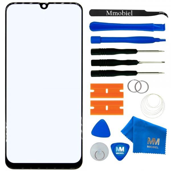 MMOBIEL Front Glas Display Scherm voor Samsung Galaxy M30 / M305 / M30s / M307 (ZWART) - inclusief Tools