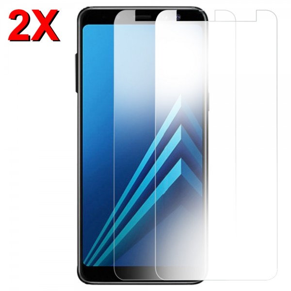 MMOBIEL 2 stuks Glazen Screenprotector voor Samsung Galaxy A8 A530 2018 - 5.6 inch 2018 - Tempered Gehard Glas - Inclusief Cleaning Set