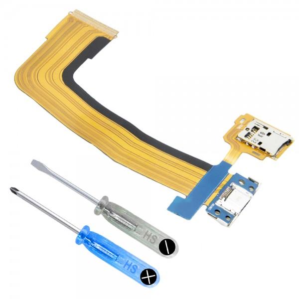 Dock Connector für Samsung Galaxy Tab S 10.5 Ladebuchse Ladeport + Werkzeug