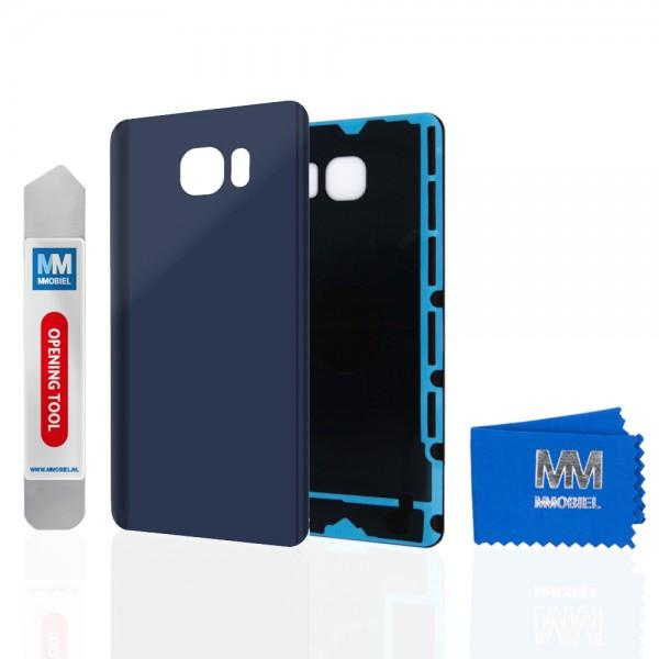 Akkudeckel für Samsung Galaxy Note 5 N920 (SCHWARZ) Backcover Rückseite