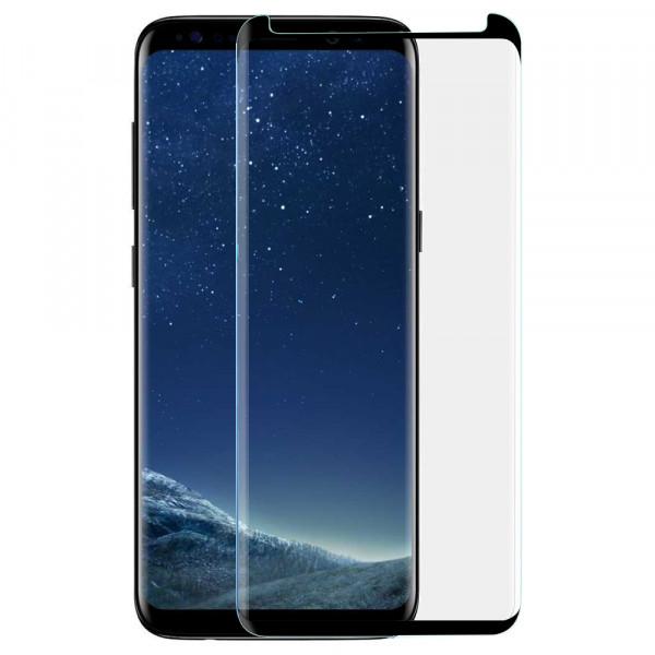 MMOBIEL Glazen Screenprotector voor Samsung Galaxy S8 Plus - 6.2 inch 2017 - Tempered Gehard Glas - Inclusief Cleaning Set