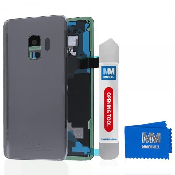 MMOBIEL Back Cover incl. Lens voor Samsung Galaxy S9 G960 (GRIJS)