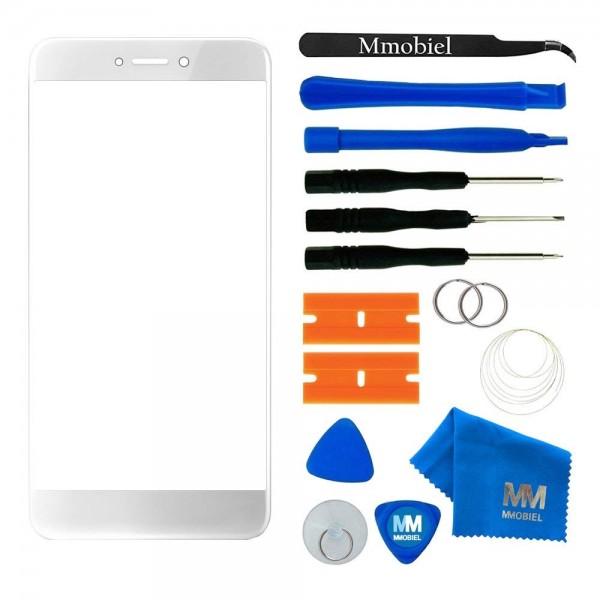 MMOBIEL Front Glas Display Scherm voor Huawei P10 Lite (WIT) - inclusief Tools