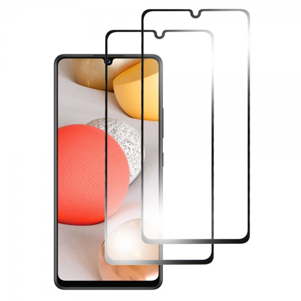 MMOBIEL 2-Pack Displayschutzfolie aus gehärtetem Glas für Samsung Galaxy A42 (5G) A426 6.6 inch 2020 - Panzerglas – Temperglas - Inklusive Reinigungsset