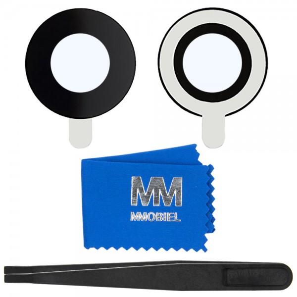 MMOBIEL Glas Lens Back Camera voor iPhone 7 / 8 (ZWART) - inclusief Pincet en Doekje