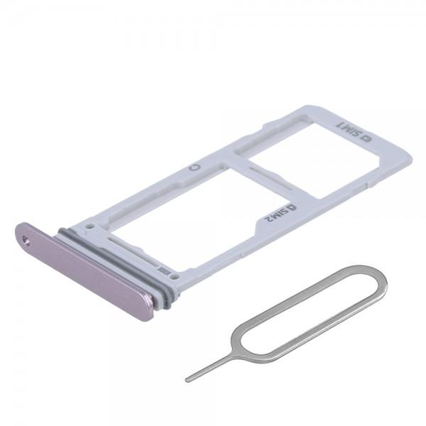 MMOBIEL Sim Tray Kaart Houder Nano Slot voor Samsung Note 9 (PAARS)