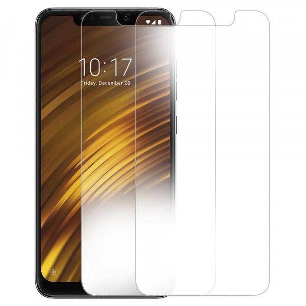 MMOBIEL 2 stuks Glazen Screenprotector voor Xiaomi Pocophone F1 - 6.18 inch 2018 - Tempered Gehard Glas - Inclusief Cleaning Set