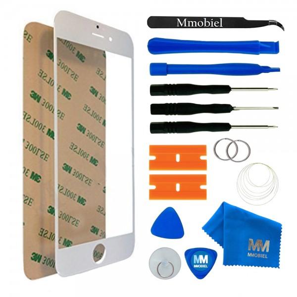 MMOBIEL Front Glas Display Scherm voor iPhone 6/6S (WIT) - inclusief Tools