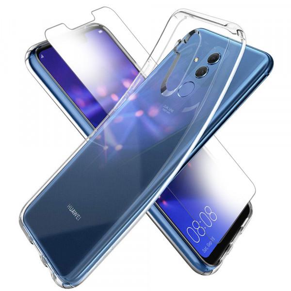 MMOBIEL Screenprotector en Siliconen TPU Beschermhoes voor Huawei Mate 20 Lite - 6.3 inch 2018