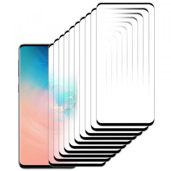 MMOBIEL 10 stuks Glazen Screenprotector voor Samsung Galaxy S10e - 5.8 inch 2019 - Tempered Gehard Glas - Inclusief Cleaning Set