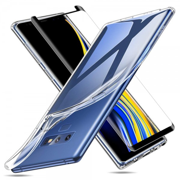 MMOBIEL Screenprotector en Siliconen TPU Beschermhoes voor Samsung Galaxy Note 9 - 6.4 inch 2018