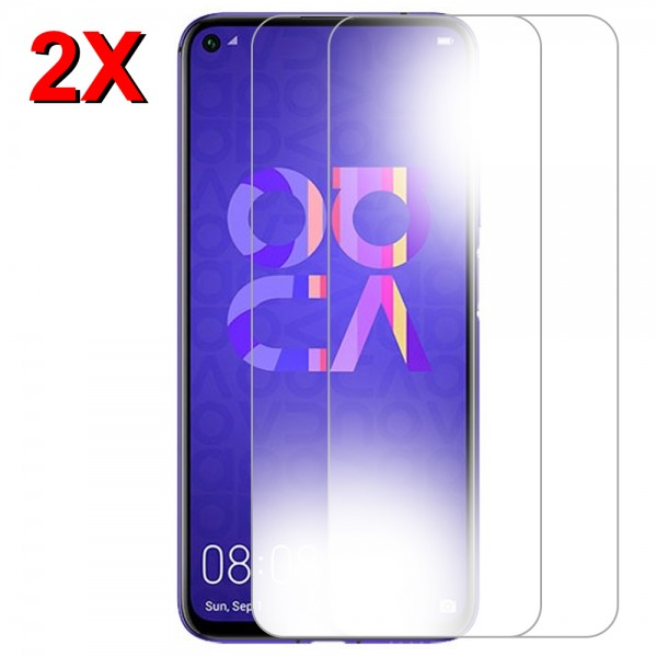 MMOBIEL 2 stuks Glazen Screenprotector voor Huawei Nova 5T - 6.26 inch 2019 - Tempered Gehard Glas - Inclusief Cleaning Set