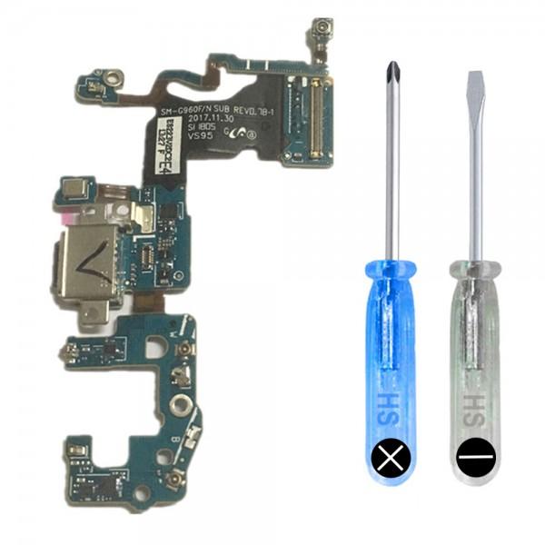 Dock Connector für Samsung Galaxy S9 G960F Ladebuchse Ladeport + Werkzeug