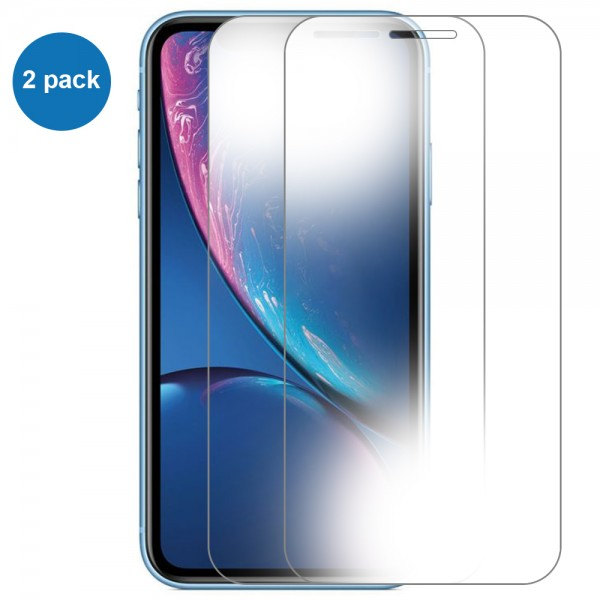 MMOBIEL 2 stuks Glazen Screenprotector voor iPhone XR / 11 - 6.1 inch - Tempered Gehard Glas - Inclusief Cleaning Set