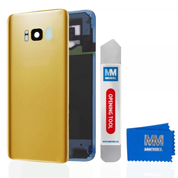 MMOBIEL Back Cover incl. Lens voor Samsung Galaxy S8 Plus G955 (GOUD)