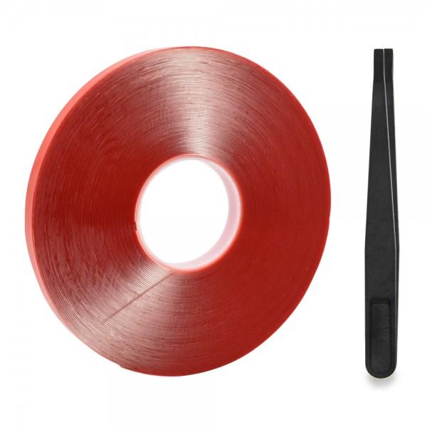2mm Doppelseitiges Montageband Acryl Klebeband Tape 30m Wetterfest Entfernbar