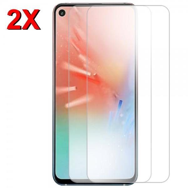MMOBIEL 2 stuks Glazen Screenprotector voor Samsung Galaxy A60 A606 2019 - 6.3 inch - Tempered Gehard Glas - Inclusief Cleaning Set