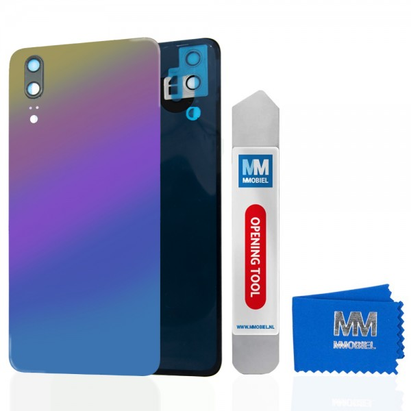 MMOBIEL Back Cover incl. Lens voor Huawei P20 2018 (TWILIGHT)