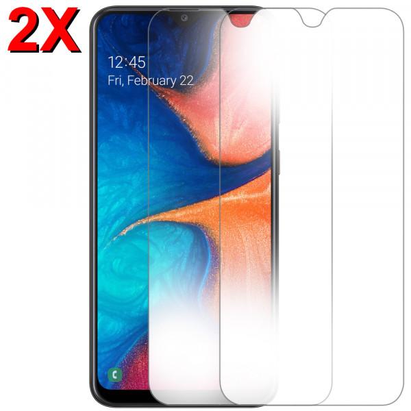 MMOBIEL 2 stuks Glazen Screenprotector voor Samsung Galaxy A20 A205 2019 - 6.4 inch - Tempered Gehard Glas - Inclusief Cleaning Set