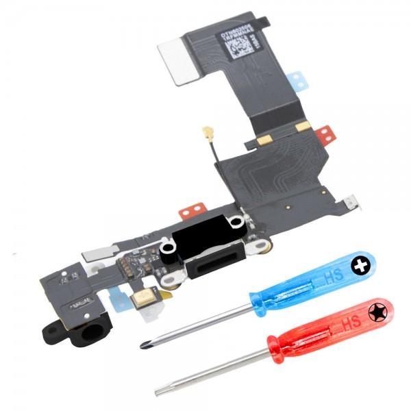 MMOBIEL Dock Connector voor iPhone 5S (ZWART)