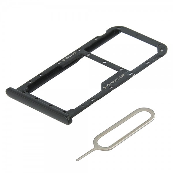 MMOBIEL Sim Tray Kaart Houder Nano Slot voor Huawei Mate 10 Lite (ZWART)
