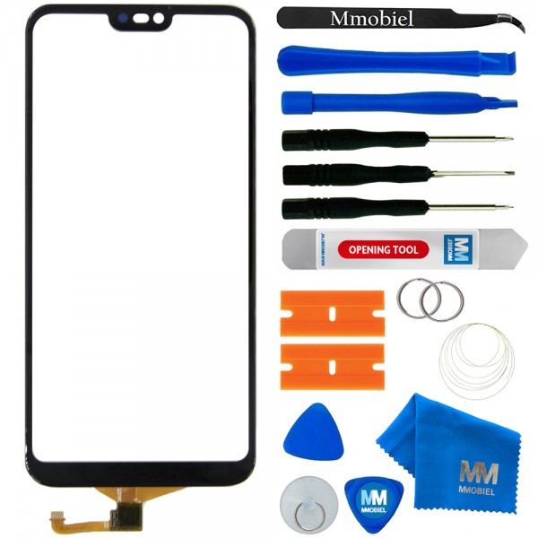 Digitizer Screen Front Display for Huawei P20 Lite (Black) incl. Toolkit