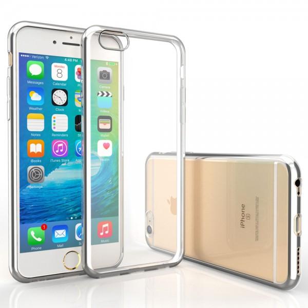 MMOBIEL Screenprotector en Siliconen TPU Beschermhoes voor iPhone 6 Plus / 6S Plus - 5.5 inch 2015