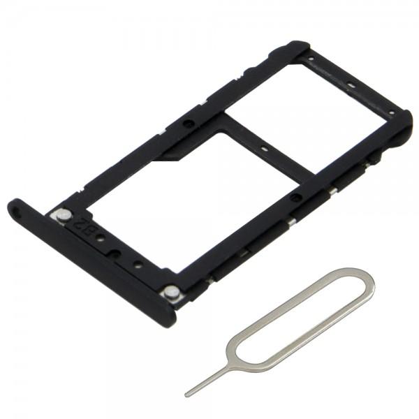 MMOBIEL Sim Tray Kaart Houder Nano Slot voor Xiaomi Mi A1 (ZWART)