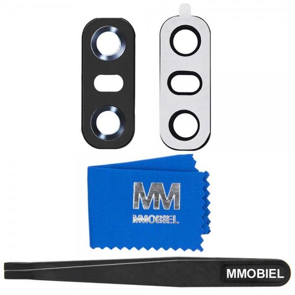 MMOBIEL Glas Lens Back Camera voor LG G6 (ZWART) - inclusief Pincet en Doekje