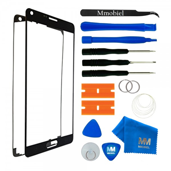 Front Glass for Samsung Galaxy Note 3 (Black) Display Touchscreen incl. Toolkit