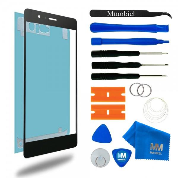 MMOBIEL Front Glas Display Scherm voor Huawei P9 (ZWART) - inclusief Tools