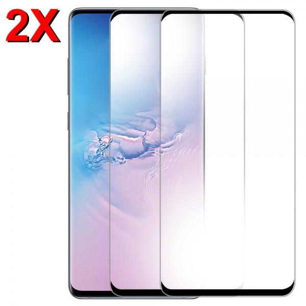 MMOBIEL 2 stuks Glazen Screenprotector voor Samsung Galaxy S10 Plus - 6.4 inch 2019 - Tempered Gehard Glas - Inclusief Cleaning Set