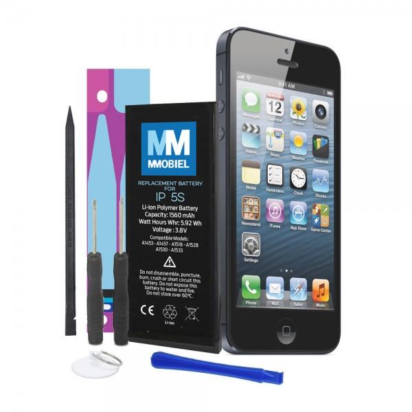 MMOBIEL Batterij / Accu voor iPhone 5S - 1560mAh Batterij Li-Ion