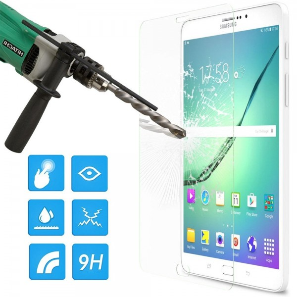 MMOBIEL Samsung Galaxy Tab S2 T810 Glazen Screenprotector Tempered Gehard Glas 2.5D 9H (0.26mm) - inclusief Cleaning Set