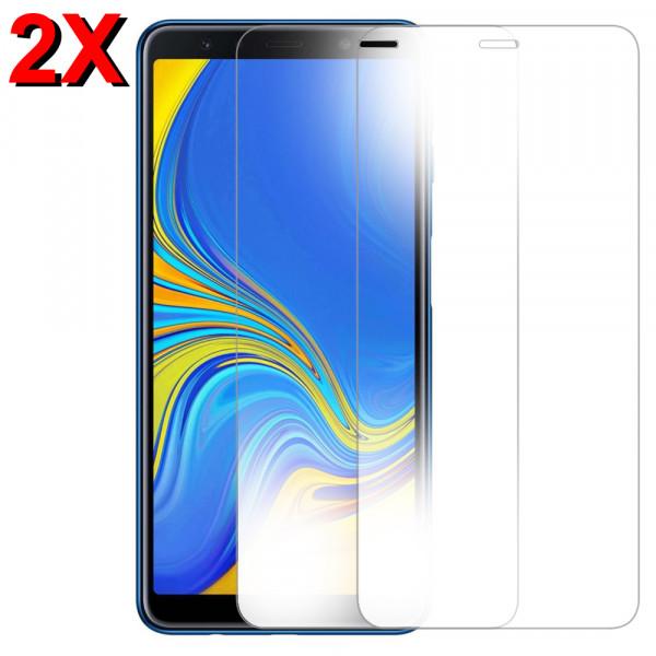 MMOBIEL 2 stuks Glazen Screenprotector voor Samsung Galaxy A7 A750 2018 - 6.0 inch - Tempered Gehard Glas - Inclusief Cleaning Set