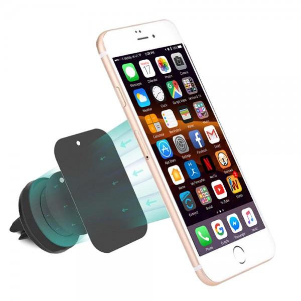 Universal magnetisch Smartphone Handy Halterung Kfz / Auto Halter Lüftungsgitter