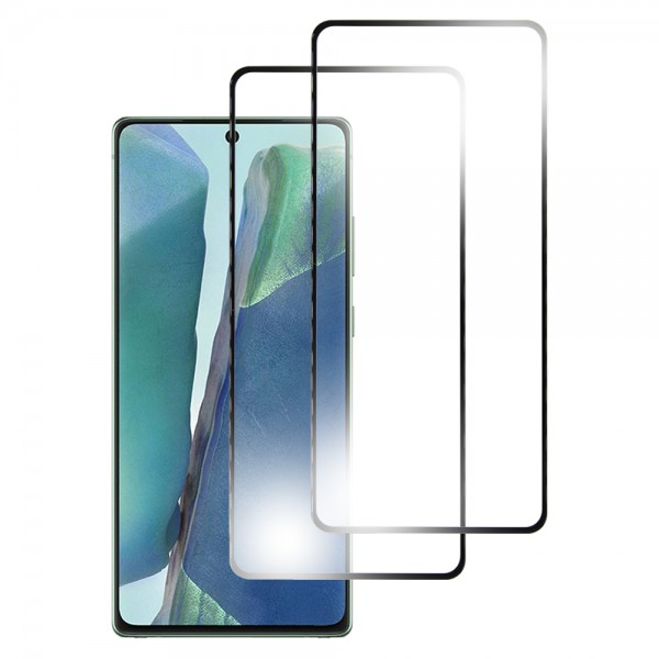 MMOBIEL 2 stuks Glazen Screenprotector voor Samsung Galaxy Note 20 N980 / Note 20 (5G) N981 6.7 inch 2020 - Tempered Gehard Glas - Inclusief Cleaning Set