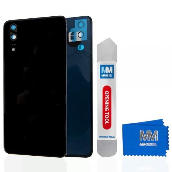 MMOBIEL Back Cover incl. Lens voor Huawei P20 2018 (ZWART)
